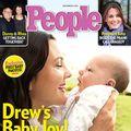 """Drew Barrymore își prezintă fetița întregii lumi: """"E un mic miracol!"""""""