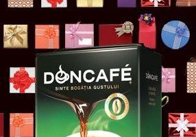 De sărbători, savurează momentul tău Doncafé Selected