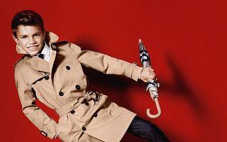 Romeo Beckham face parada modei: Fiul fotbalistului a devenit fotomodel