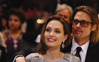 Cum petrec Crăciunul Angelina Jolie şi Brad Pitt