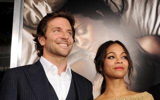 Bradley Cooper şi Zoe Saldana s-au despărţit