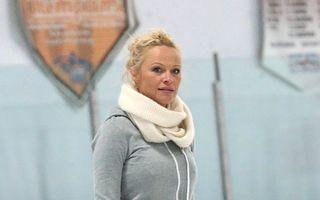 Pamela Anderson, eşec pe gheață