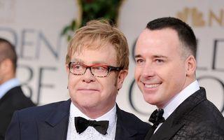 Elton John, tată pentru a doua oară