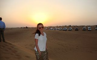 Mirela Stelea, vacanţă în Dubai: Safari, plajă şi shopping la început de an!