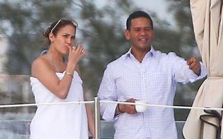 Jennifer Lopez, vacanţă pe iaht
