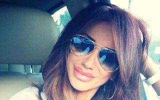 Bianca Drăgușanu, cu buzele umflate pe Facebook
