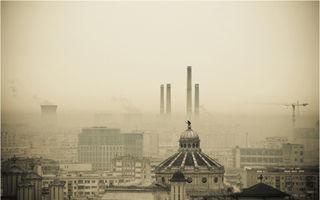 Imaginea zilei: Inima de beton a României