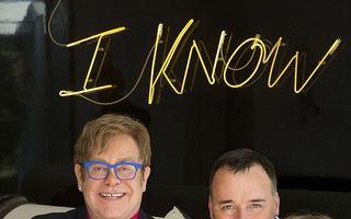 Elton John, fotografie de familie: Prima imagine cu al doilea copil