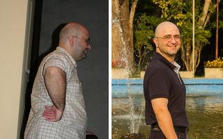 Slăbeşte fără suferinţă: Andrei ne spune CUM a ajuns de la 110 Kg la 75 kg