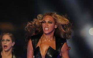 Beyonce a electrizat publicul la Super Bowl