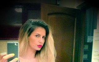 """Fenomenul """"piți în oglindă"""": Azi, Andreea Bănică"""