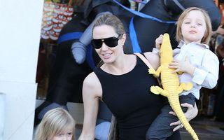 Fiica Angelinei Jolie, la primul ei rol