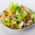 Salată cu spanac şi mere