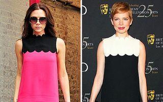 Hollywood: 10 vedete îmbrăcate de Victoria Beckham. Cine sunt cele mai cochete?