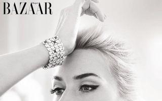 Kate Winslet, sexy în Harper's Bazaar