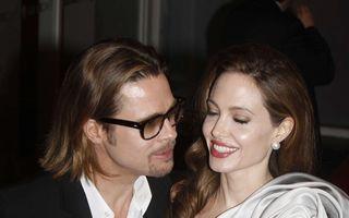 Angelina Jolie şi Brad Pitt, nuntă în 90 de zile
