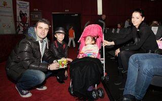 Cornel Ilie, de la Vunk, este alături de Ioana, fetiţa care suferă de o boală genetică foarte rară
