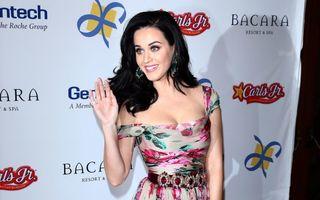 Katy Perry, din nou singură