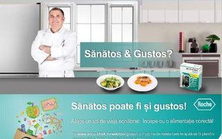 """Campania """"Sănătos poate fi şi gustos!"""" aduce o aplicaţie pentru planificarea meselor"""