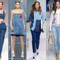 Modă: Designerii au umplut lumea cu haine din denim. Ţie îţi plac?