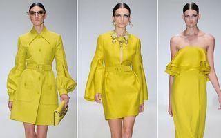 Modă: Hainele galbene aduc primăvara în garderobă. Ţie îţi plac?