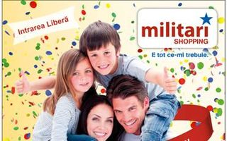 Militari Shopping aniversează 4 ani de la deschidere