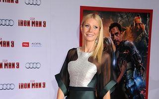 Gwyneth Paltrow, umilită într-o rochie transparentă