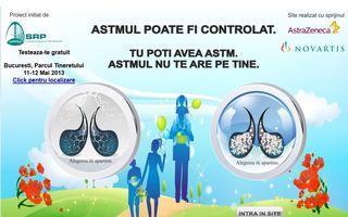 Testări gratuite pentru depistarea astmului