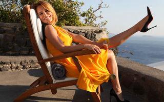 Andreea Esca, supervacanţă în Grecia