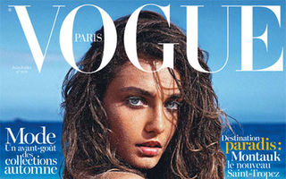 Andreea Diaconu, pe coperta Vogue Paris