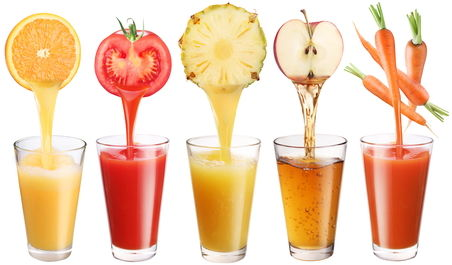 dieta de slabit cu sucuri de fructe si legume)