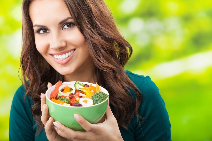 Cautand o femeie vegetariana
