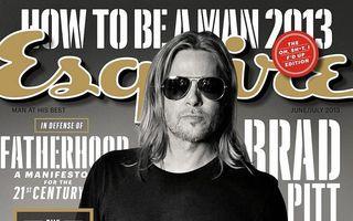 Brad Pitt nu reține figurile oamenilor