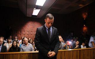 Cazul Pistorius: Primele imagini de la locul crimei