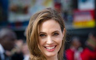 Angelina Jolie, prima apariţie după mastectomie
