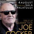 Concertul Joe Cocker se muta la Sala Palatului