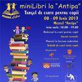 8-9 iunie: miniLibri, târgul de carte pentru copii combinat cu teatru interactiv