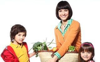 5 porţii de fructe şi legume, secretul unei alimentaţii perfecte