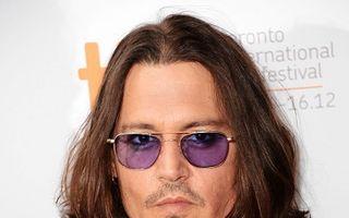 """Johnny Depp e aproape orb: """"Sunt ca un liliac"""""""