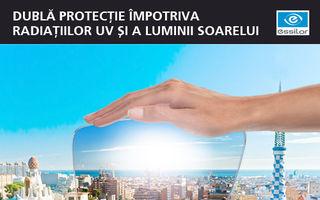 Protejeaza-ti ochii de razele UV! Must-have-ul verii: lentilele de ochelari Crizal Transitions by Essilor