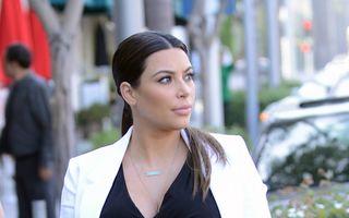 """Kim Kardashian își """"vinde"""" scump copilul: Cât costă primele poze cu fiica vedetei"""