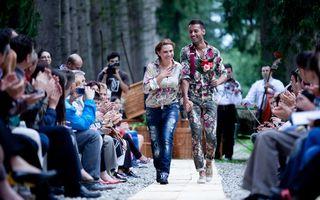 Adina Buzatu a încheiat Feeric Fashion Show