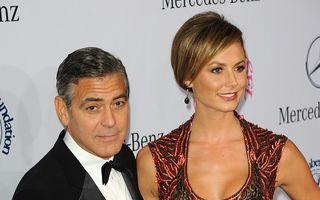 Din nou singur acasă: George Clooney s-a despărțit de iubita lui