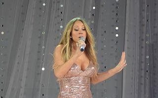 Mariah Carey şi-a dislocat umărul