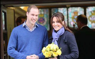 Prinţul William, alături de soţia sa, pentru a asista la naşterea primului copil al cuplului