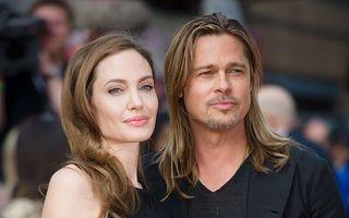 Brad Pitt, învoit de Angelina Jolie ca să bea cu prietenii