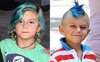Hollywood: 7 copii rebeli ai vedetelor. Cine îşi vopseşte părul?