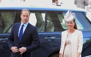 Catherine, soţia prinţului William, a intrat în travaliu