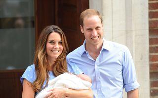 Kate a fost externată. Primele imagini cu bebeluşul regal