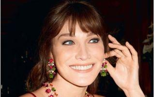 Carla Bruni s-a întors la muncă! A devenit imaginea pentru bijuteriile Bulgari